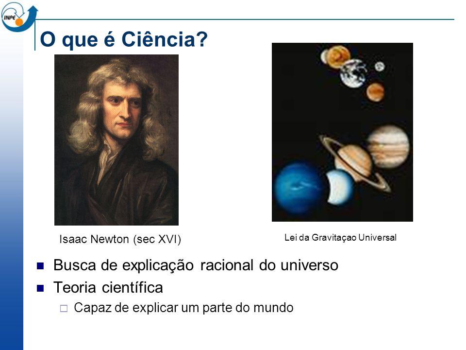 O que é Ciência Busca de explicação racional do universo
