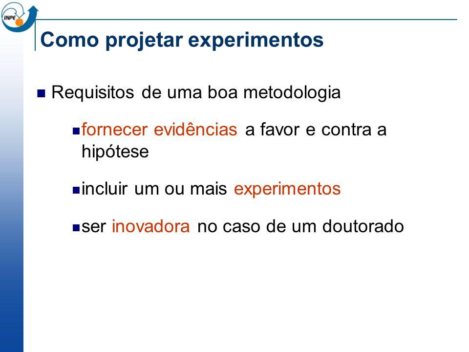 Como projetar experimentos