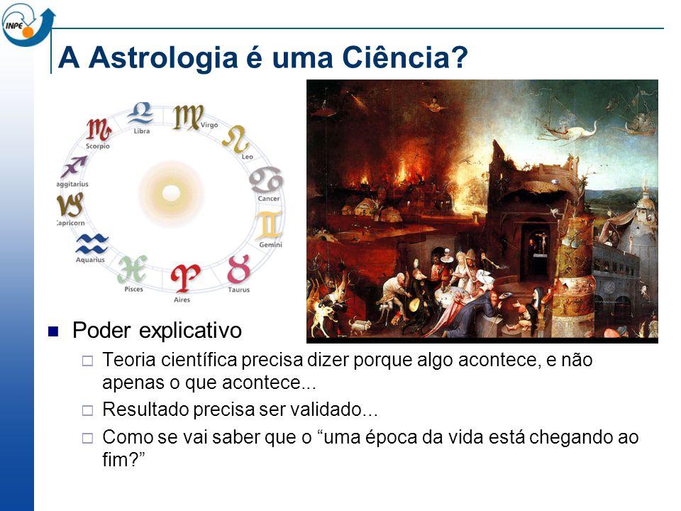 A Astrologia é uma Ciência