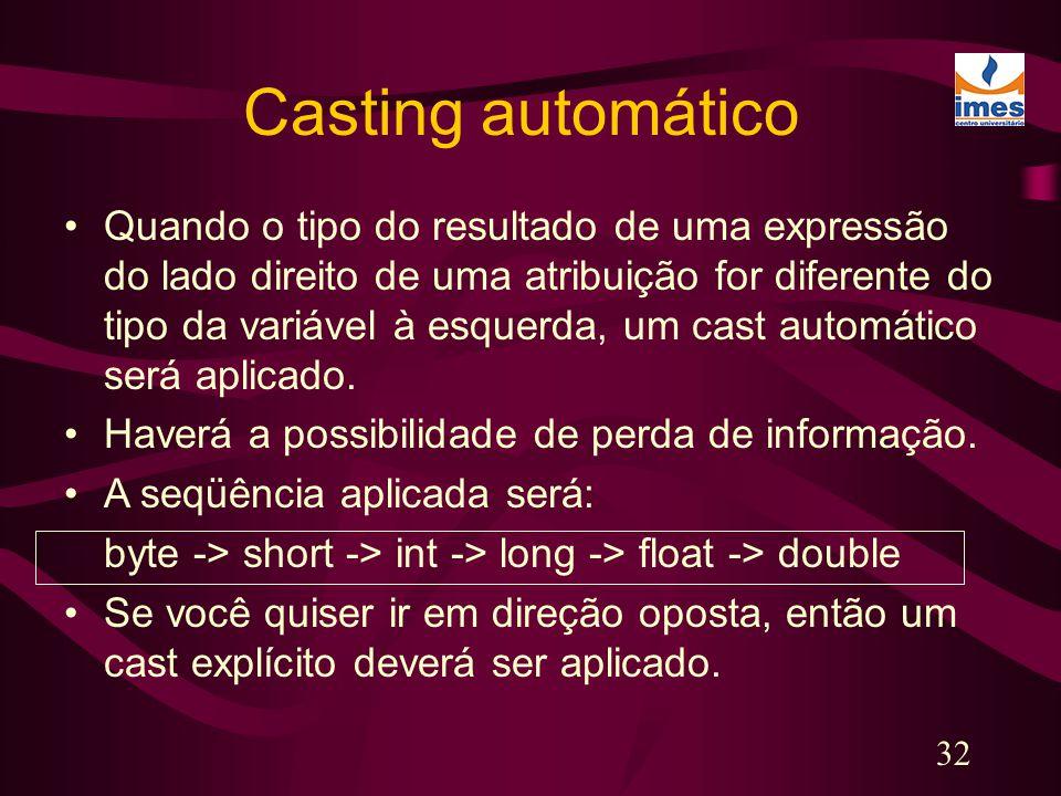 Casting automático