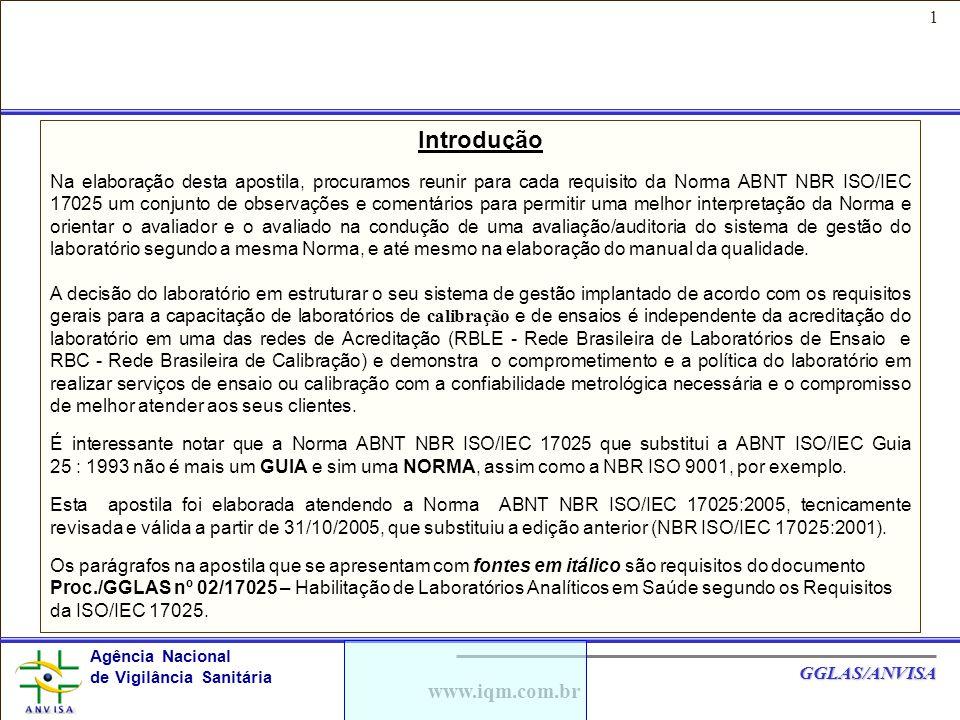 Introdução www.iqm.com.br