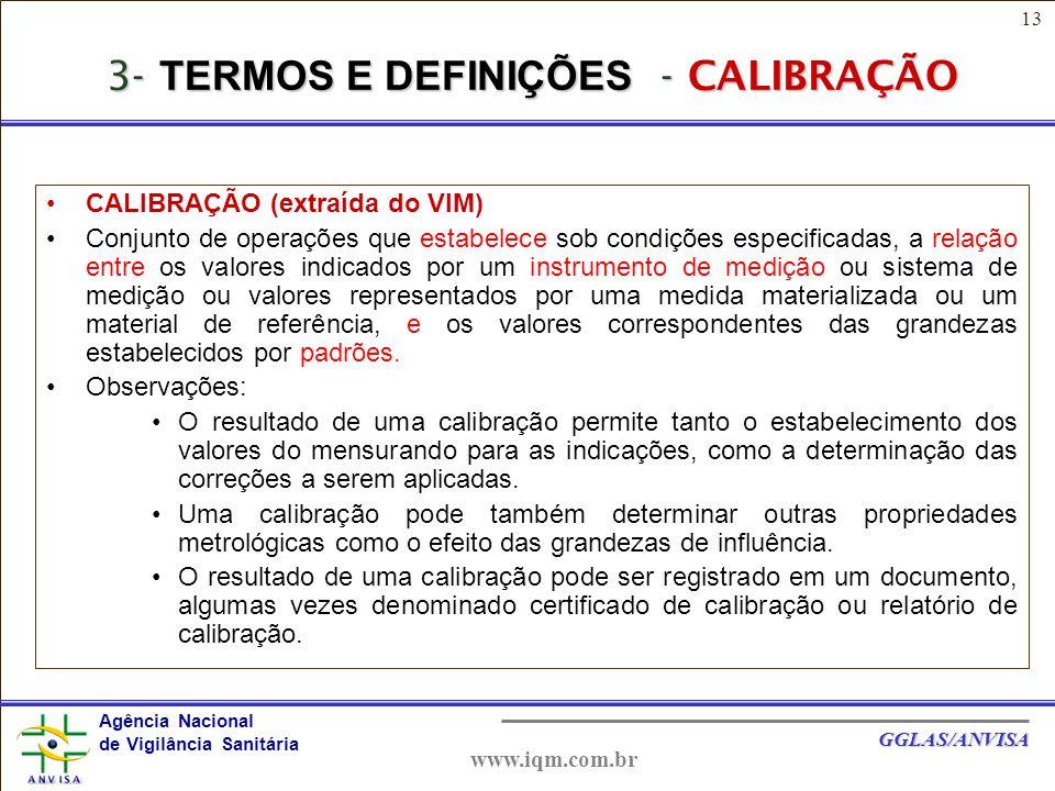 3- TERMOS E DEFINIÇÕES - CALIBRAÇÃO