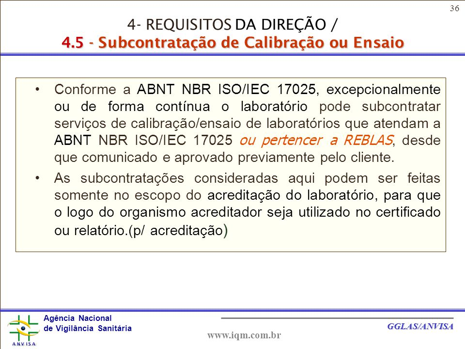 4- REQUISITOS DA DIREÇÃO / 4