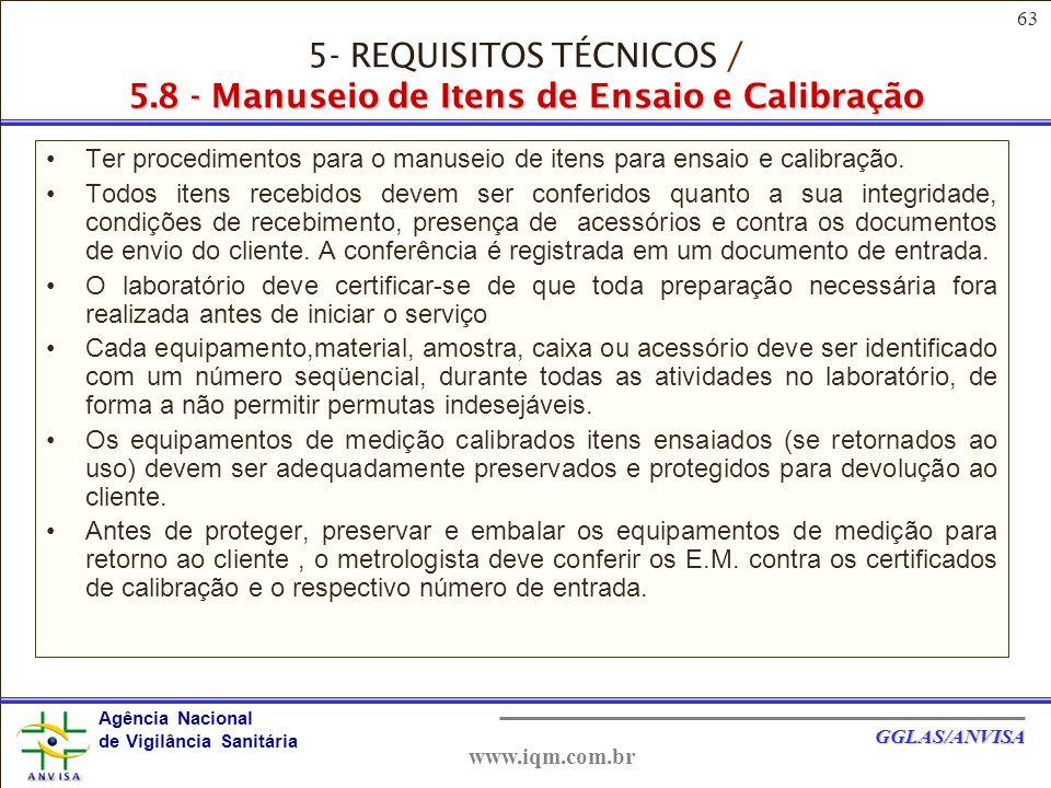5- REQUISITOS TÉCNICOS / 5
