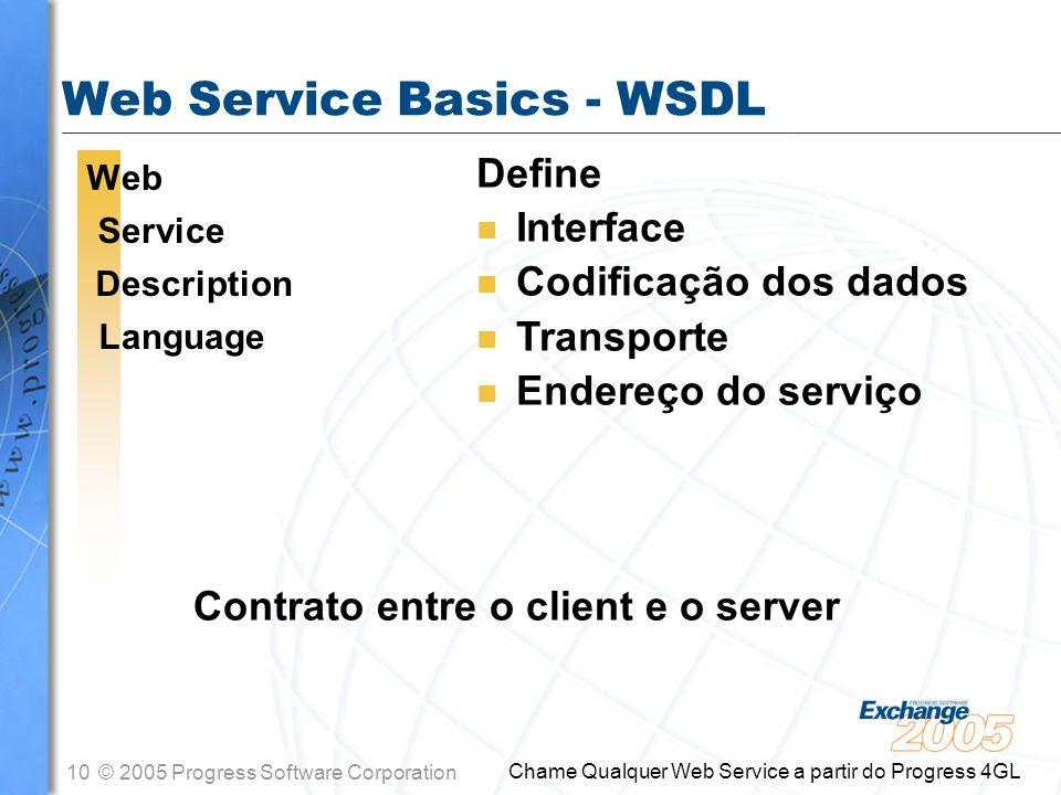Web Service Basics - WSDL
