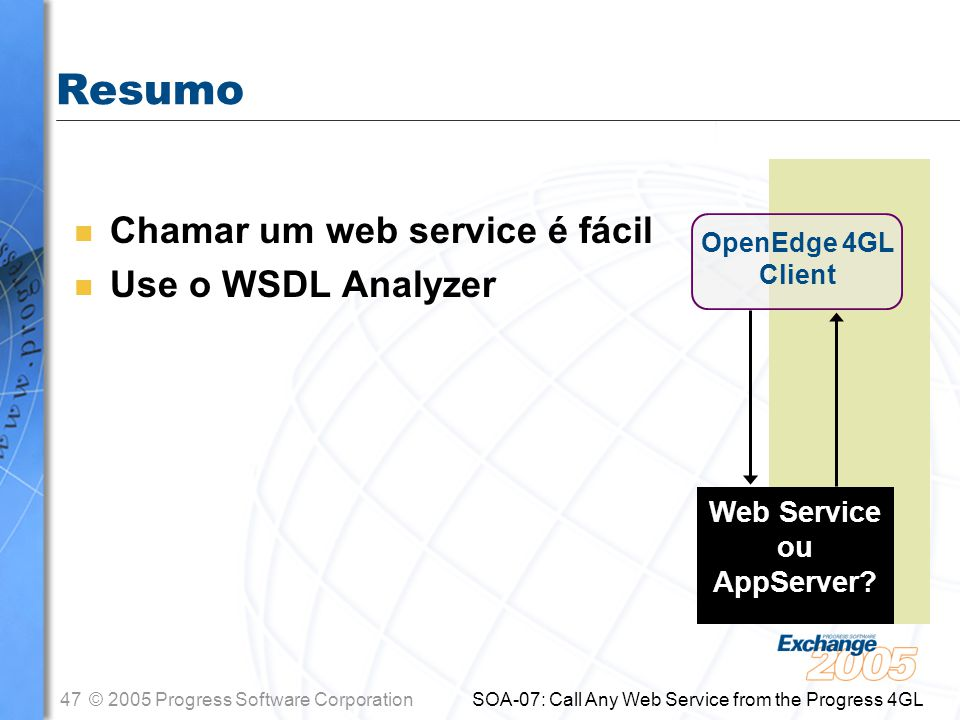 Web Service ou AppServer