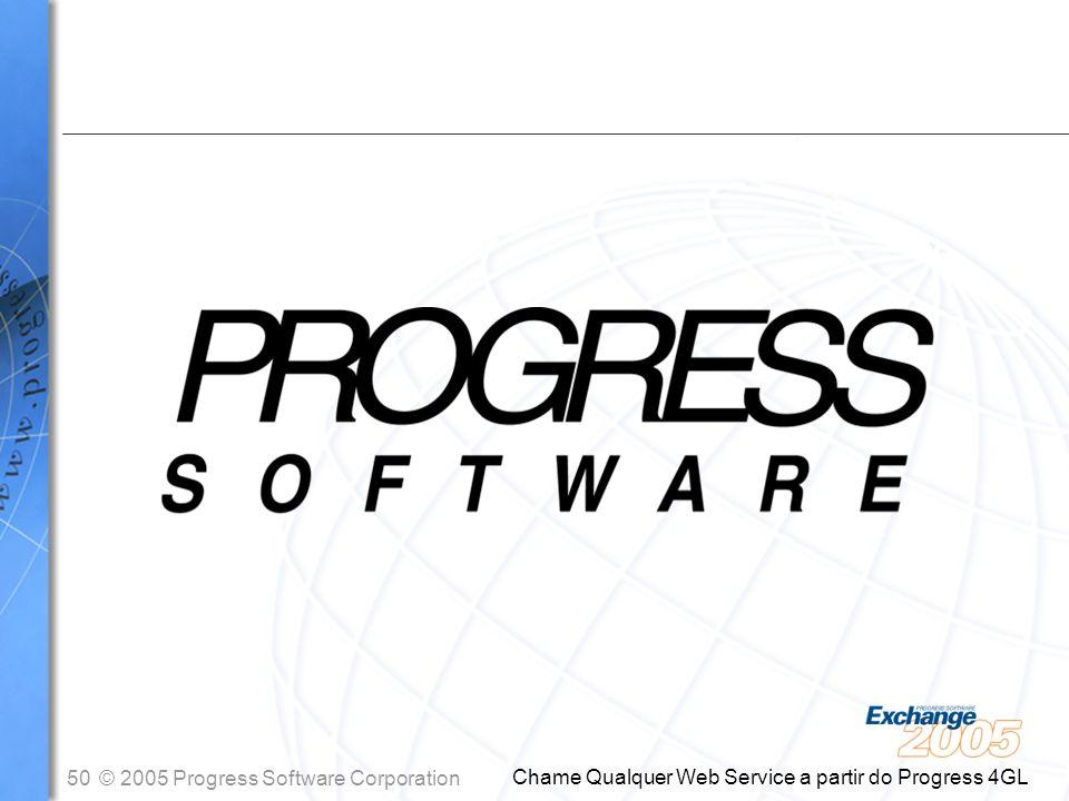 Chame Qualquer Web Service a partir do Progress 4GL