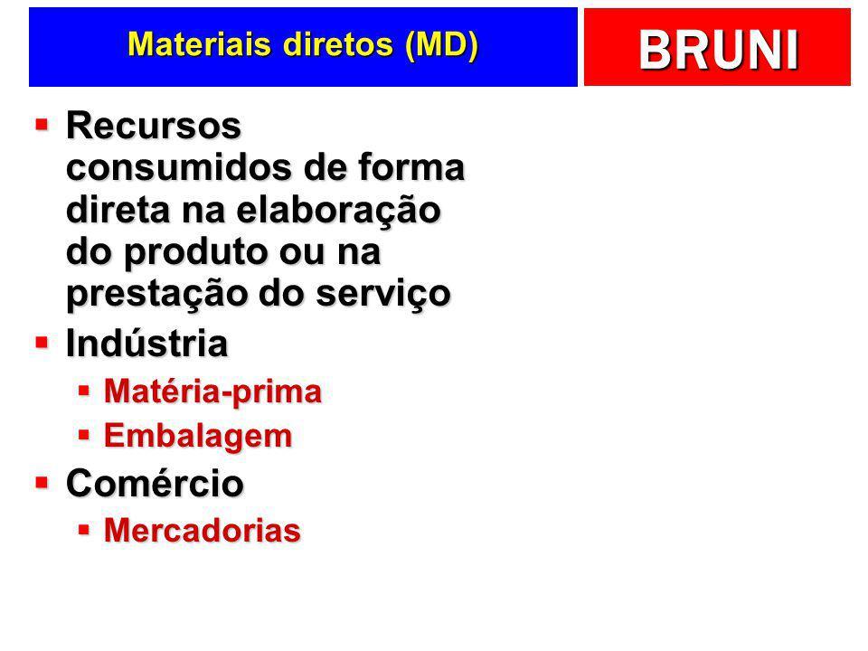 Materiais diretos (MD)
