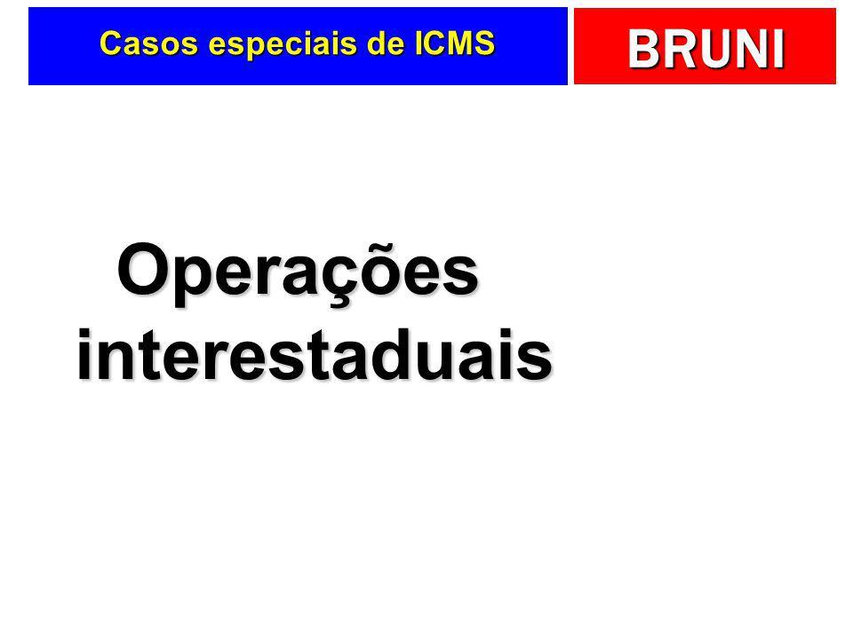 Casos especiais de ICMS