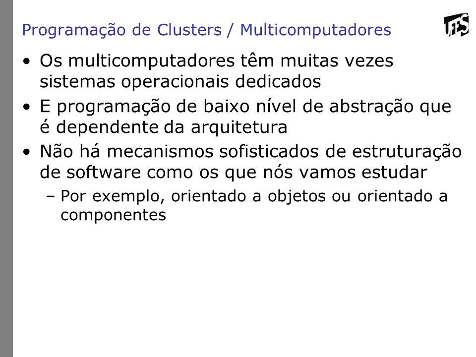 Programação de Clusters / Multicomputadores