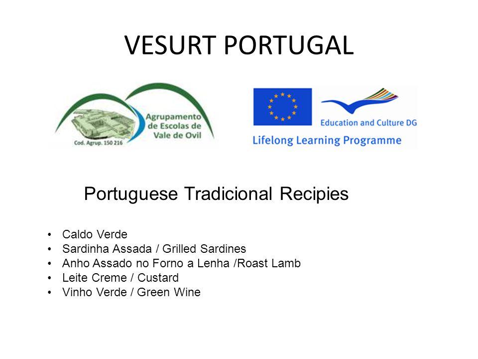 VESURT PORTUGAL Portuguese Tradicional Recipies Caldo Verde