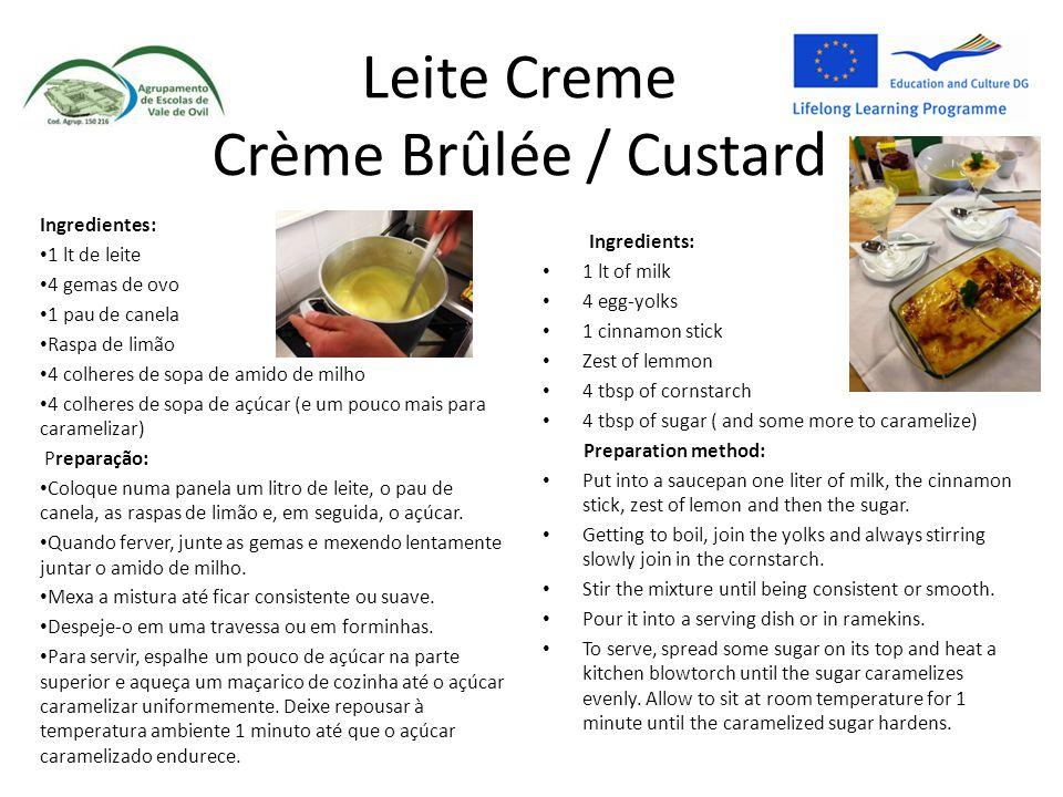 Leite Creme Crème Brûlée / Custard