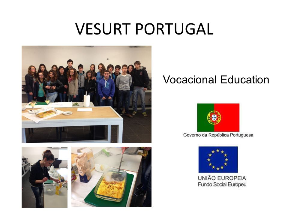 VESURT PORTUGAL Vocacional Education