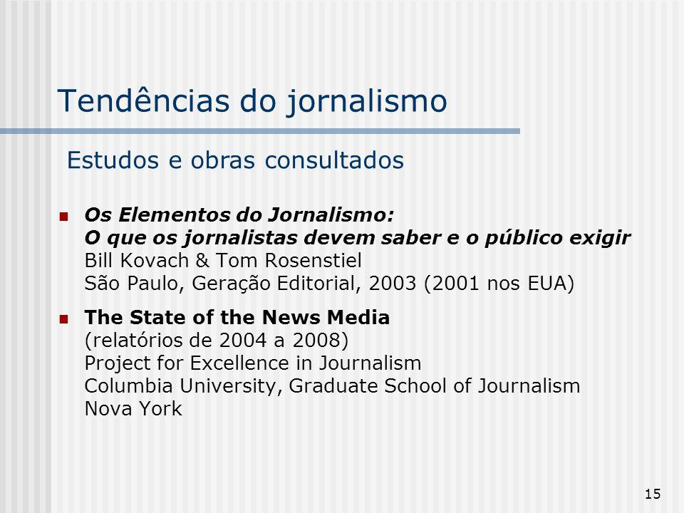Tendências do jornalismo