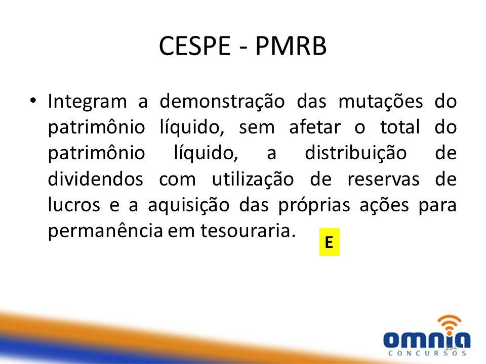CESPE - PMRB