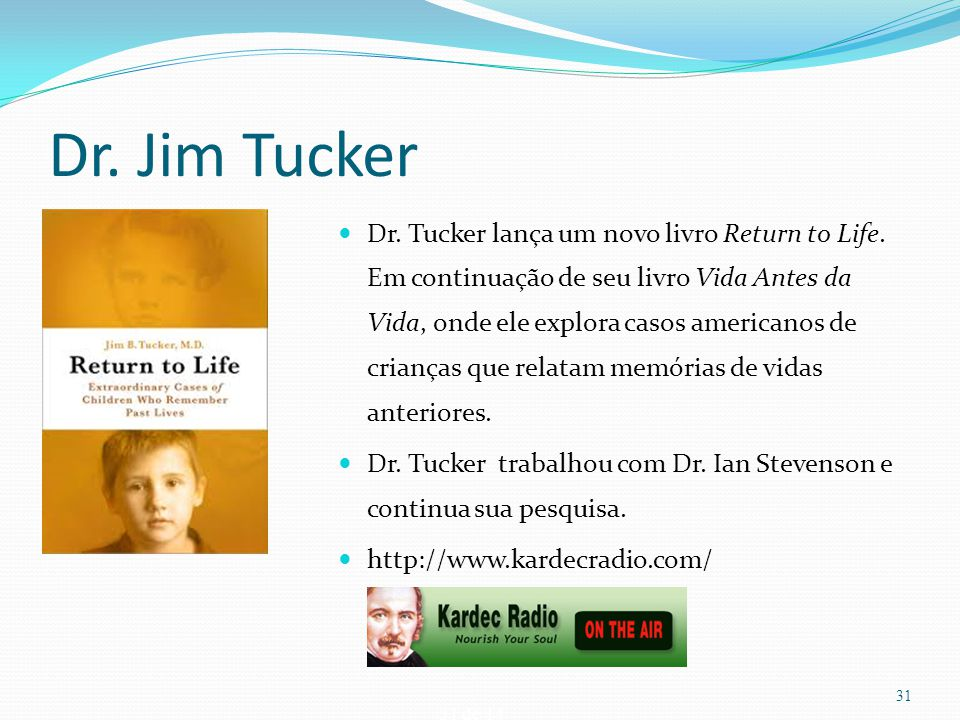 Dr. Jim Tucker