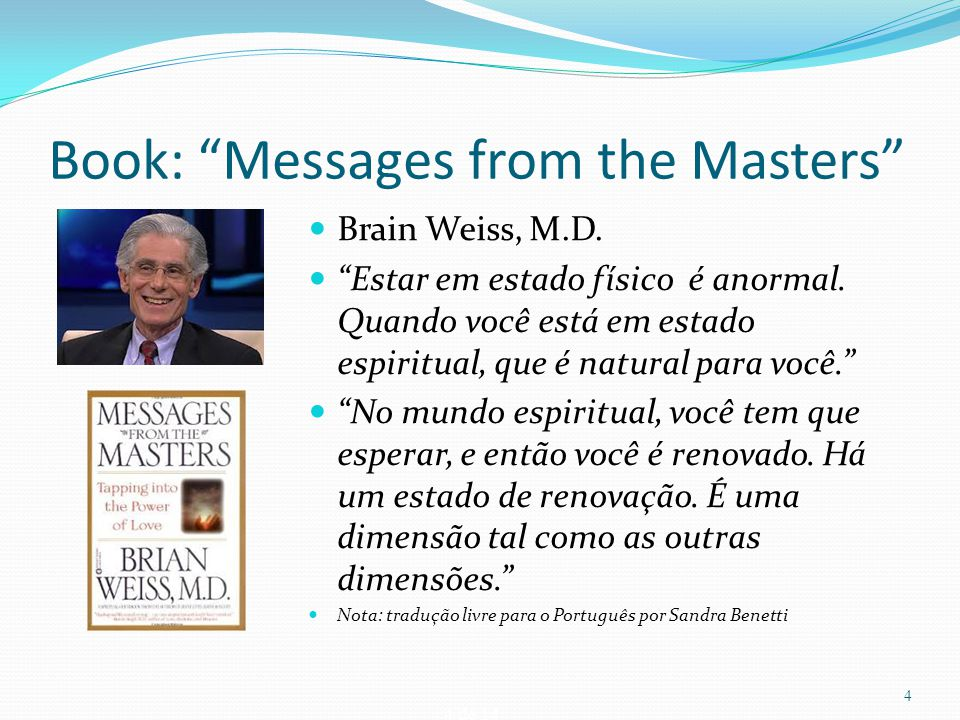 Book: Messages from the Masters