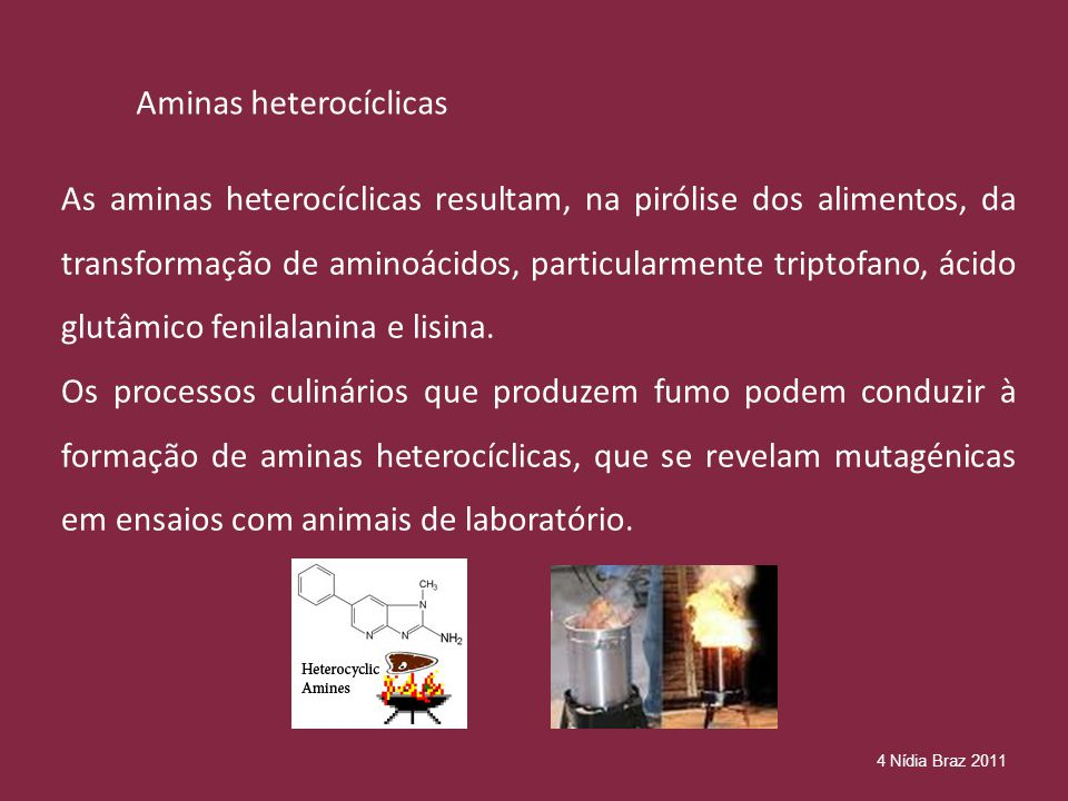 Aminas heterocíclicas