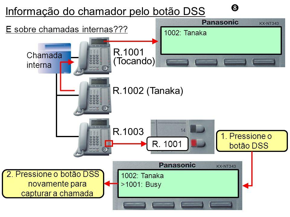 2. Pressione o botão DSS novamente para capturar a chamada