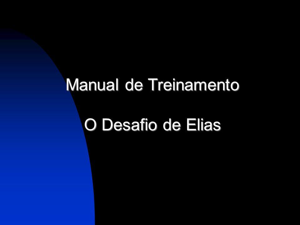Manual de Treinamento O Desafio de Elias