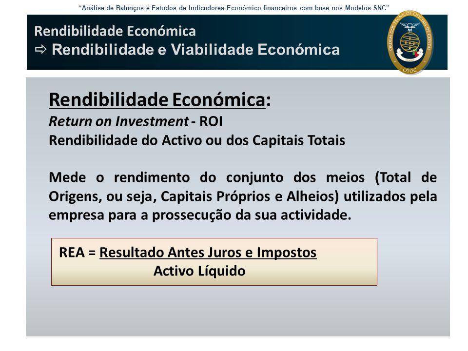 Rendibilidade Económica:
