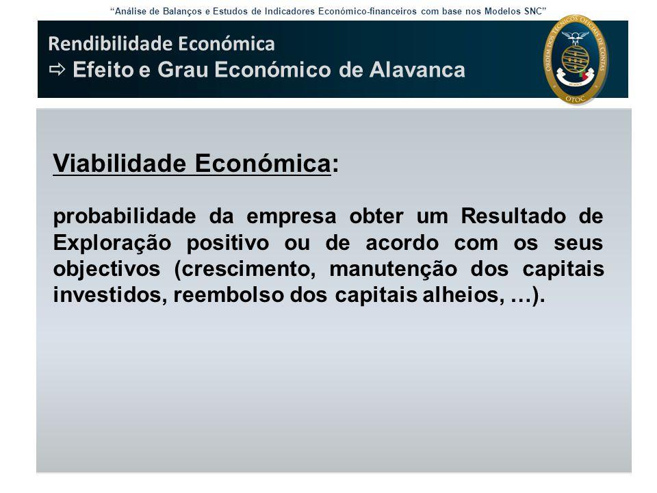 Viabilidade Económica: