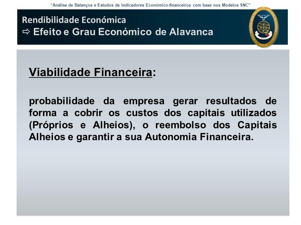 Viabilidade Financeira: