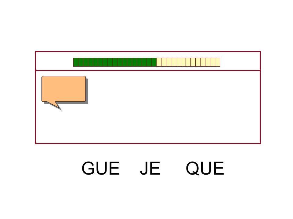 GUE JE QUE
