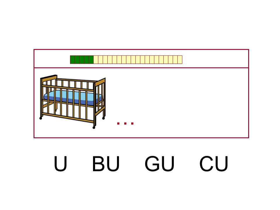 … U BU GU CU