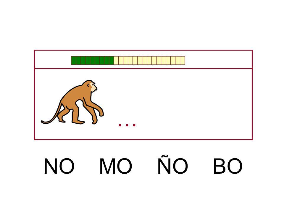 … NO MO ÑO BO