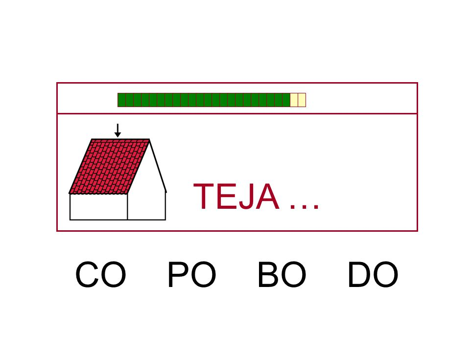 TEJA … CO PO BO DO