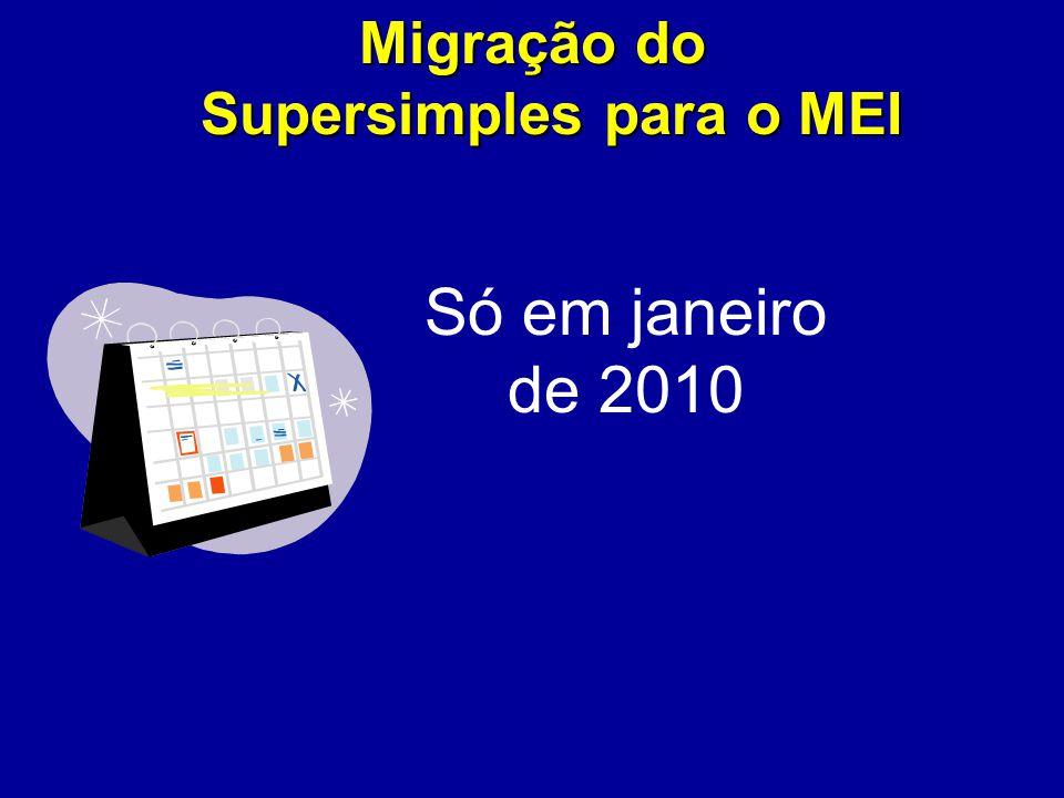 Migração do Supersimples para o MEI