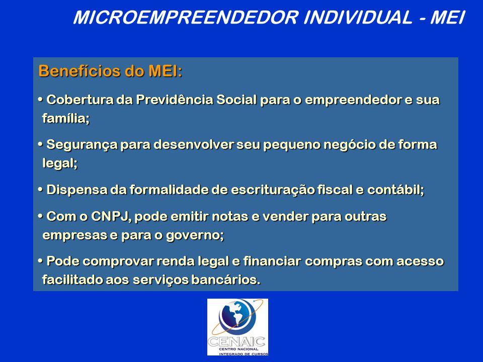 MICROEMPREENDEDOR INDIVIDUAL - MEI