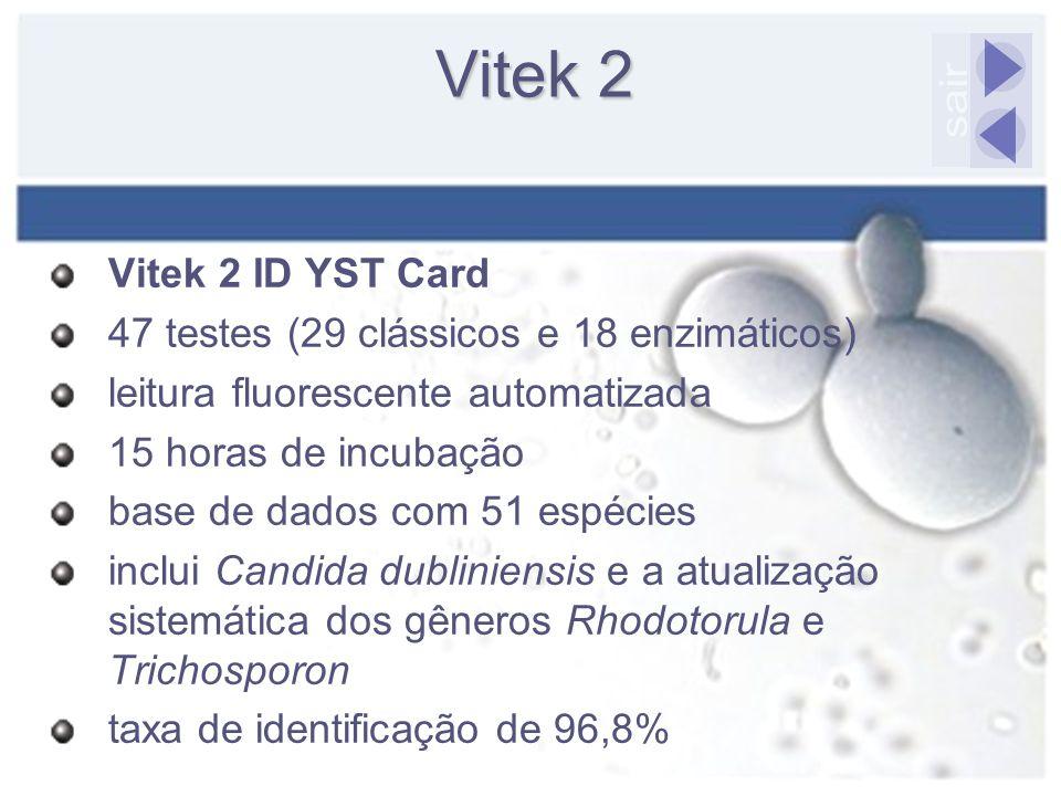 Vitek 2 sair Vitek 2 ID YST Card
