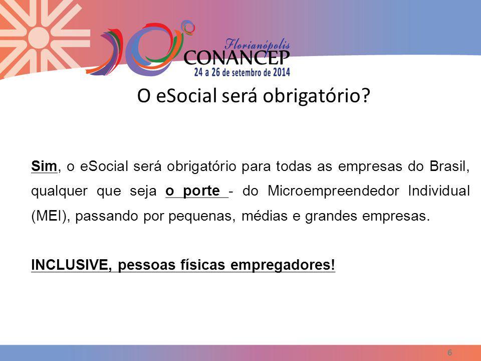 O eSocial será obrigatório