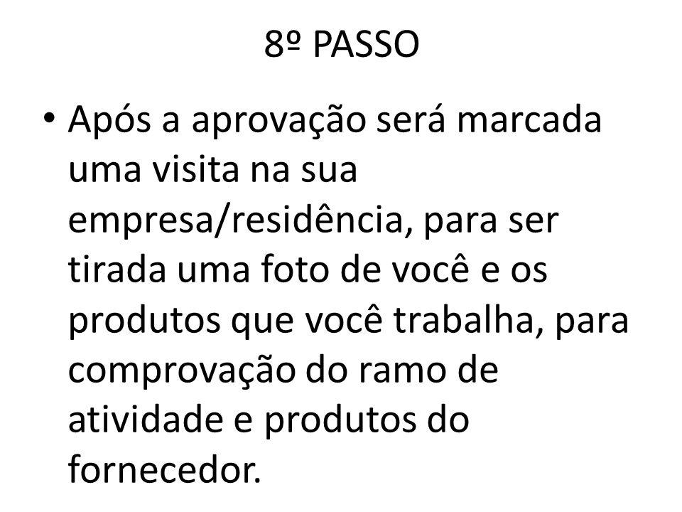 8º PASSO