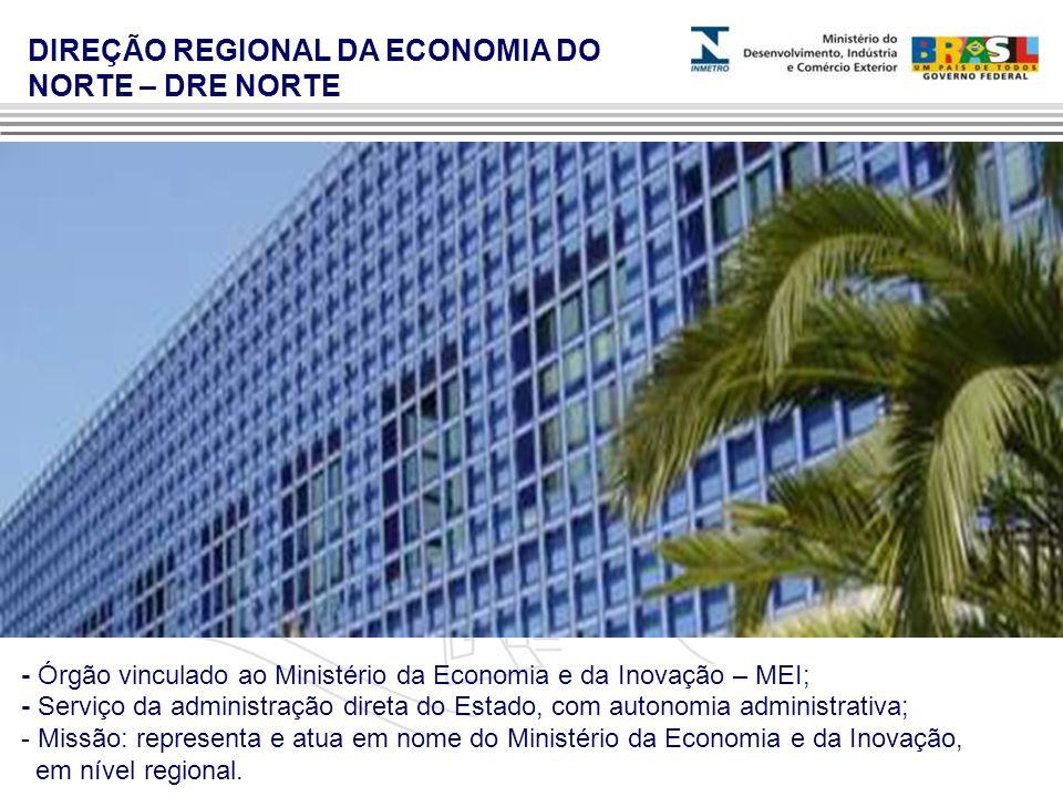 DIREÇÃO REGIONAL DA ECONOMIA DO NORTE – DRE NORTE