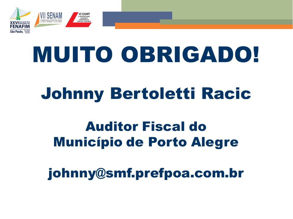 Johnny Bertoletti Racic Município de Porto Alegre