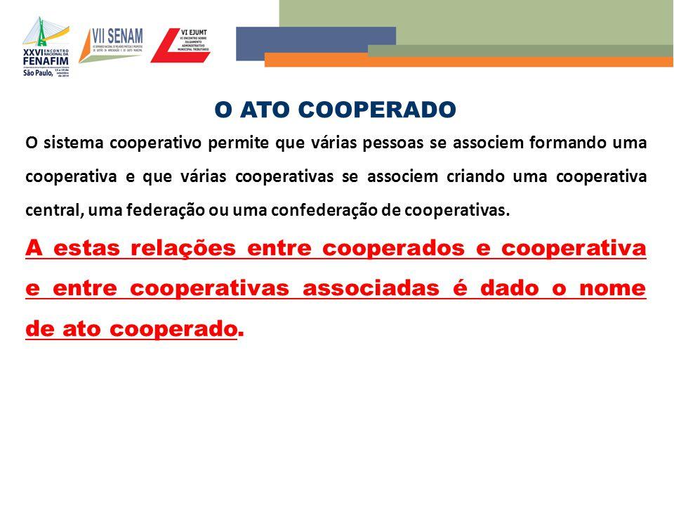 O ATO COOPERADO