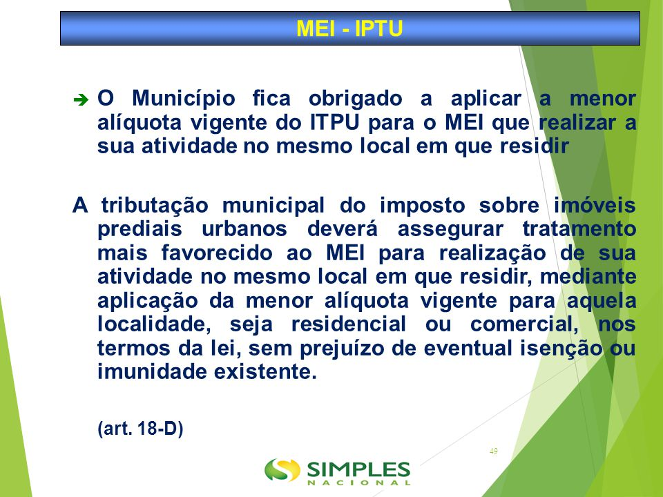 MEI - IPTU