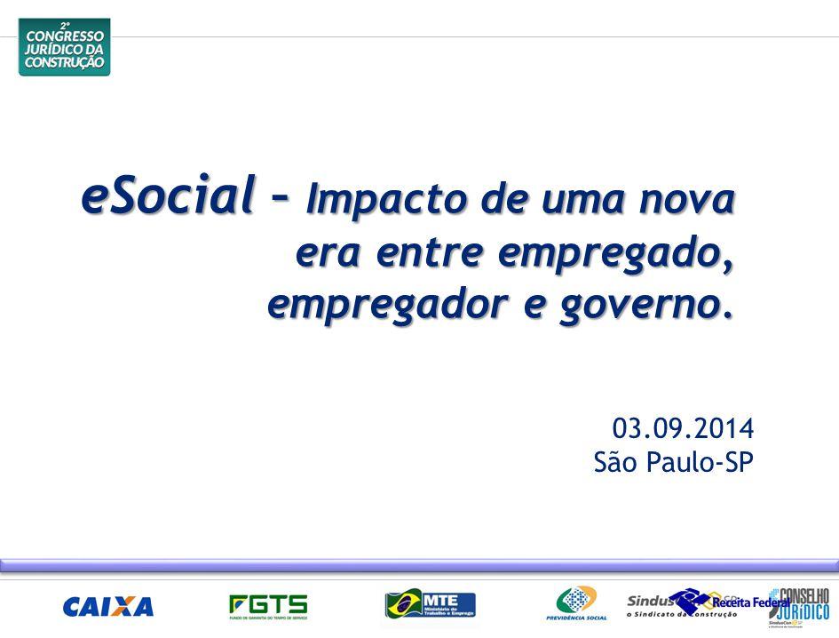 eSocial – Impacto de uma nova era entre empregado, empregador e governo.