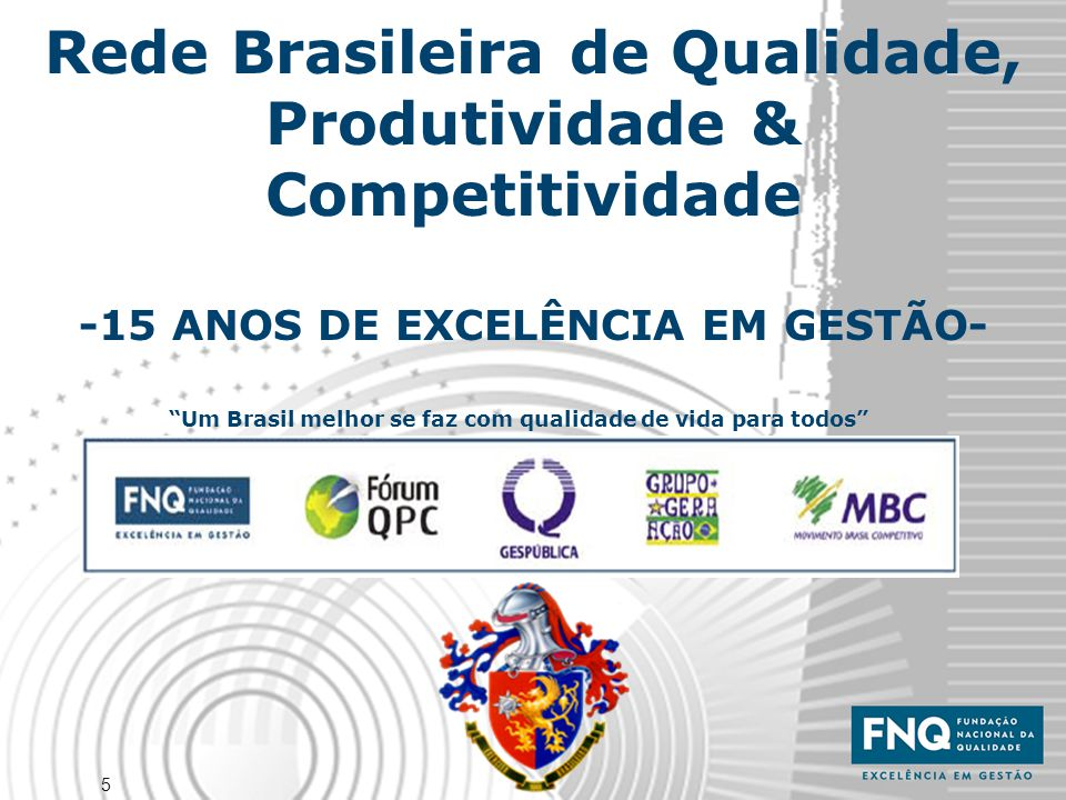 Um Brasil melhor se faz com qualidade de vida para todos
