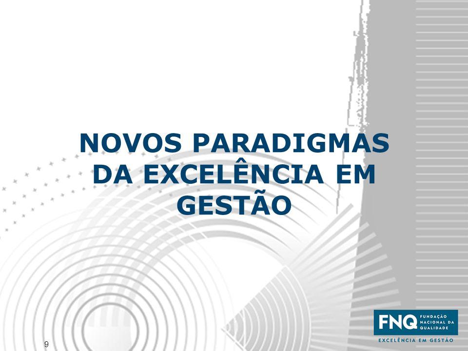 NOVOS PARADIGMAS DA EXCELÊNCIA EM GESTÃO