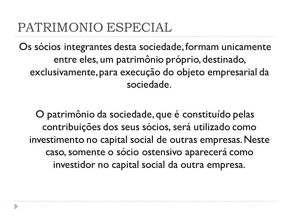 PATRIMONIO ESPECIAL