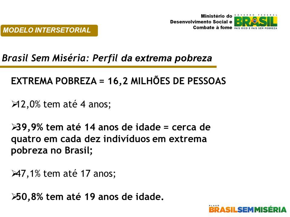 Brasil Sem Miséria: Perfil da extrema pobreza