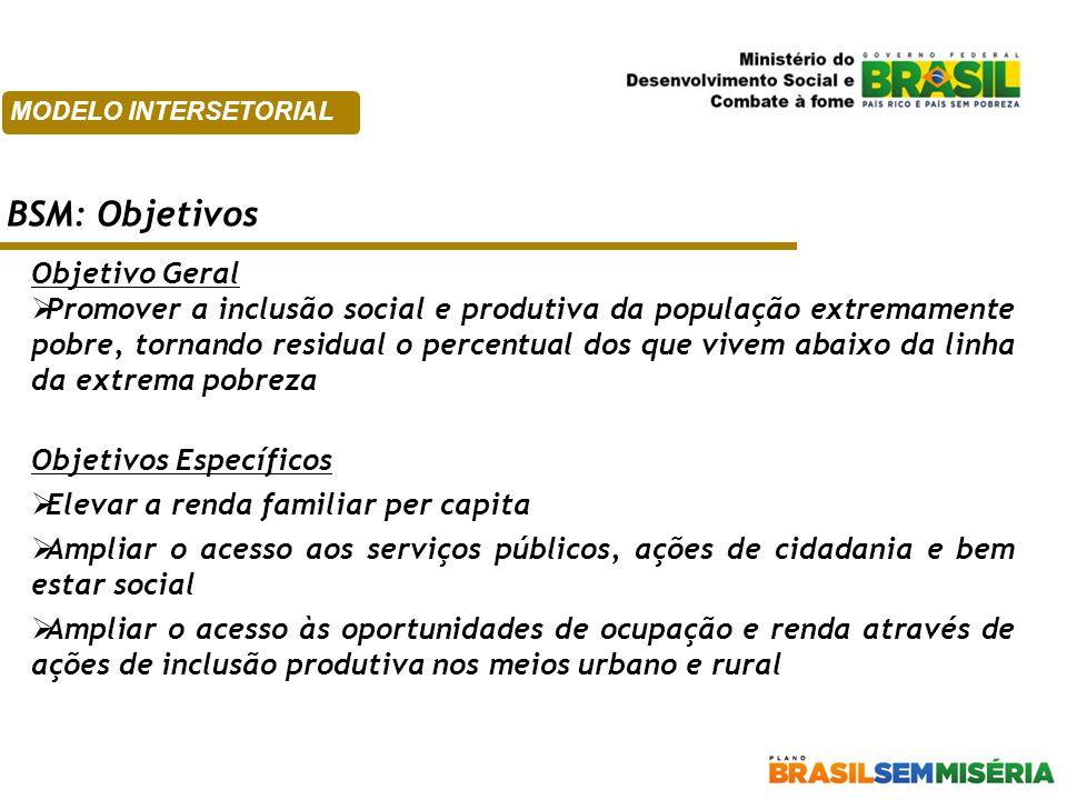 BSM: Objetivos Objetivo Geral