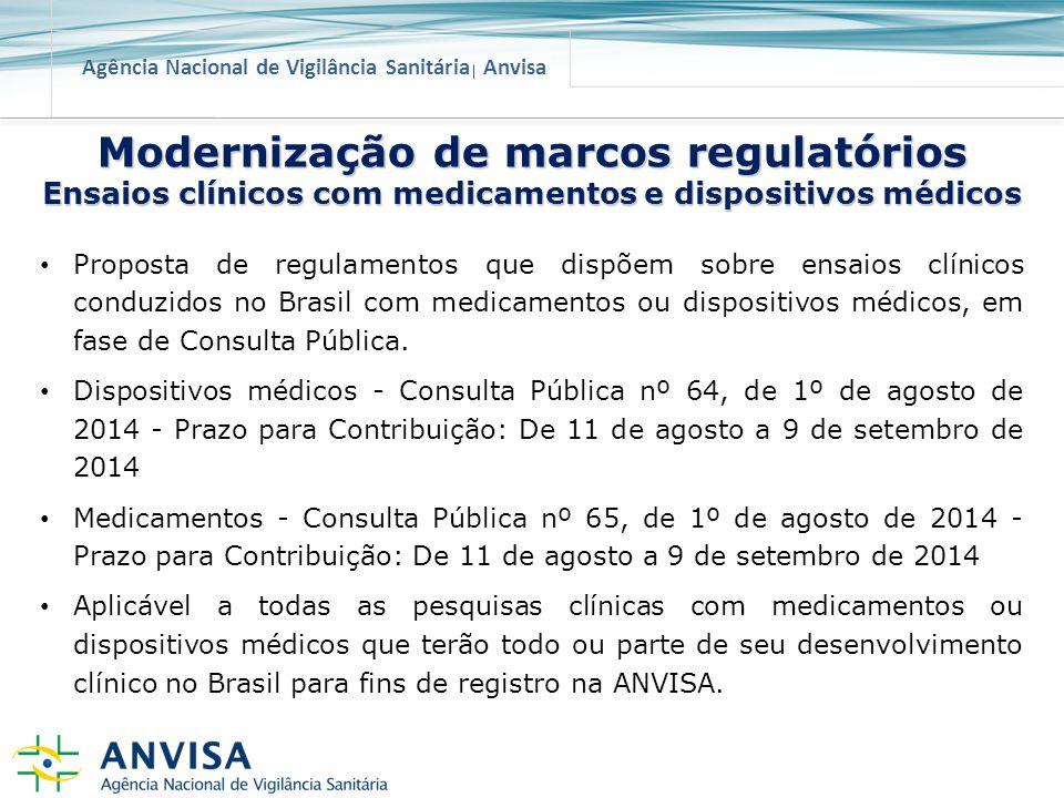 Modernização de marcos regulatórios