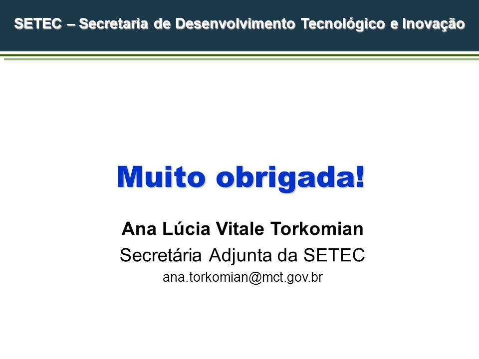 SETEC – Secretaria de Desenvolvimento Tecnológico e Inovação