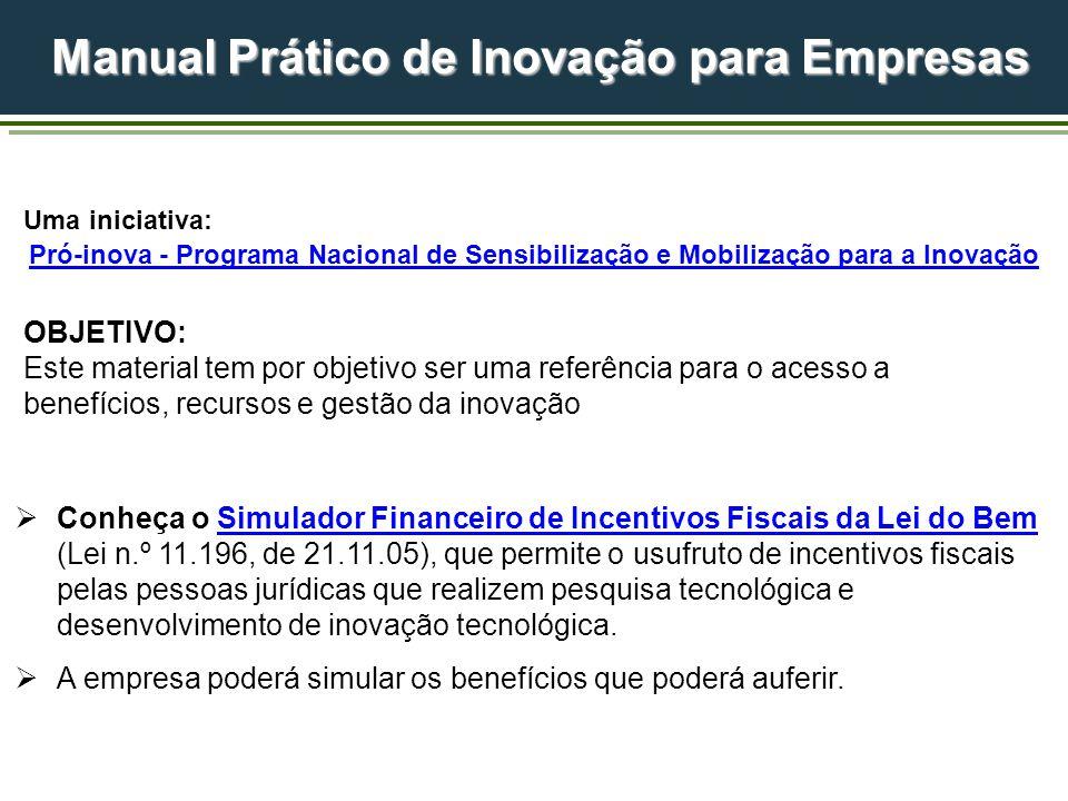 Manual Prático de Inovação para Empresas