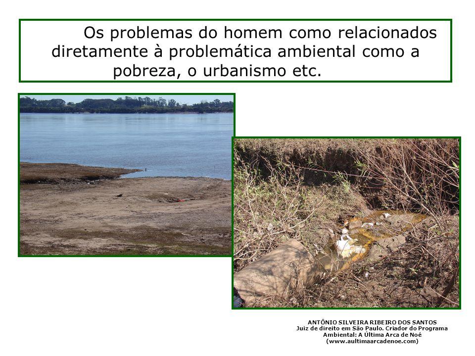 O me=Os problemas do homem como relacionados diretamente à problemática ambiental como a pobreza, o urbanismo etc. ente